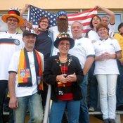 Die Kolpingsfamilie Hannover- Ricklingen hat bereits viele Spiele der vergangenen Weltmeisterschaft zusammen gesehen. Auch bei der jetzigen Europameisterschaft wird es wieder ein Public- Viewing geben. © privat