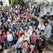 50 Familien machen mit bei dem Projekt. © Caritas
