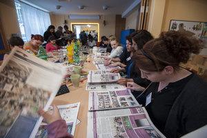 Auch eine Stadtteilzeitung ist entstanden. © Caritas